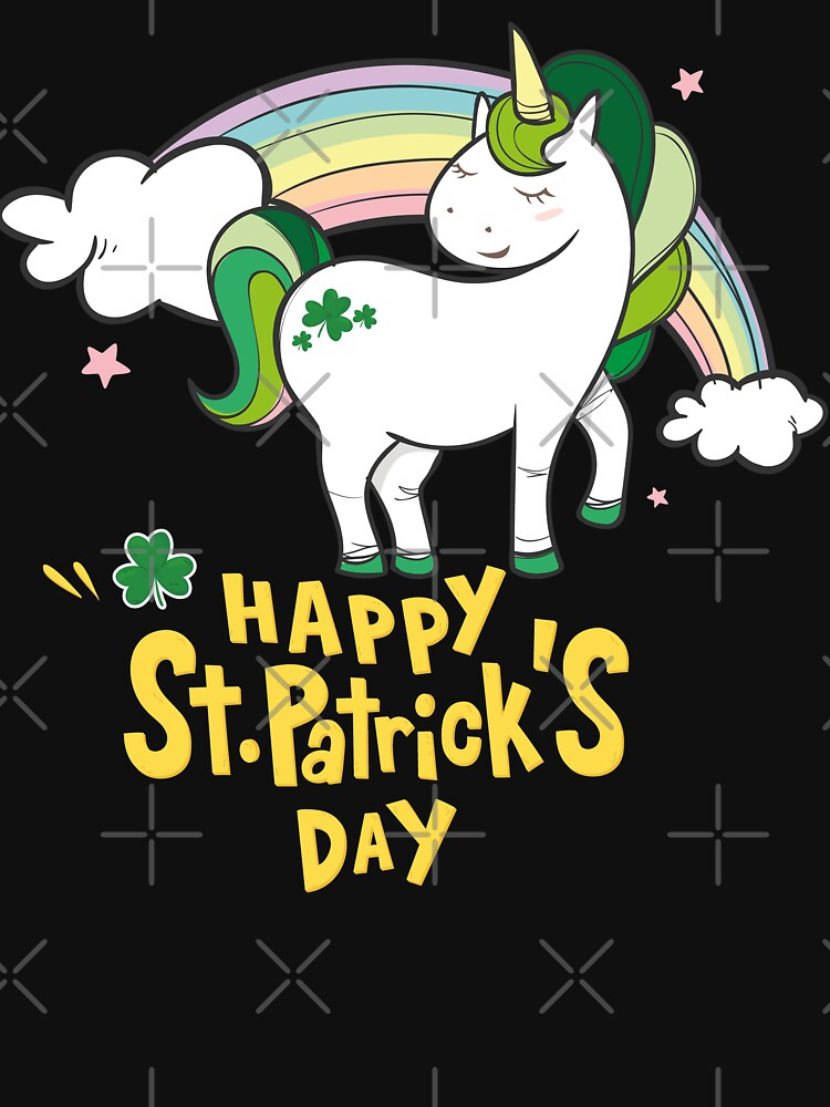 Happy St. Patrick's Day Unicorn by edgyshop