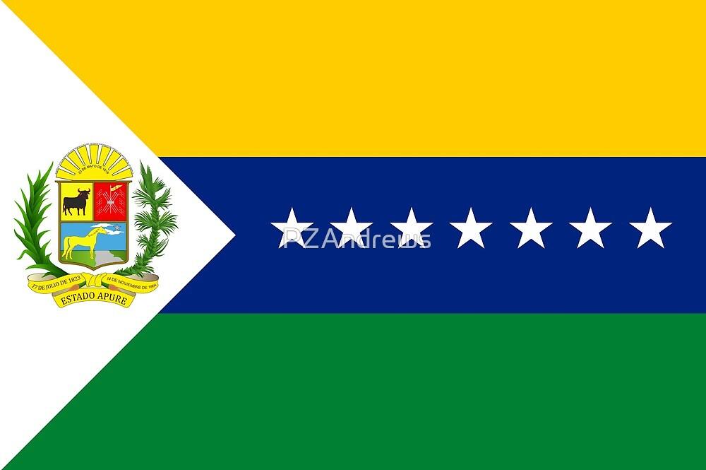 Flag of Apure State, Venezuela by PZAndrews