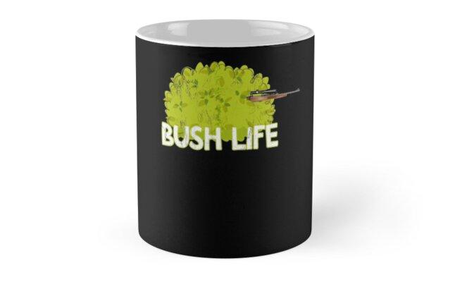 263944d26 Funny Bush Life Camper Gaming T-shirt