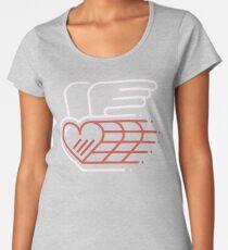 Winged Heart Premium Scoop T-Shirt