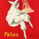 Vintage Pasta Poster, Italy by mindydidit