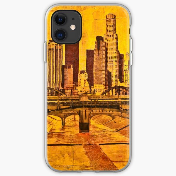 Los Angeles River Yellow iPhone Soft Case