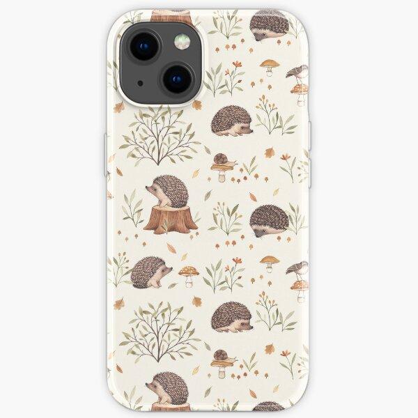 Little Hedgehog iPhone Soft Case
