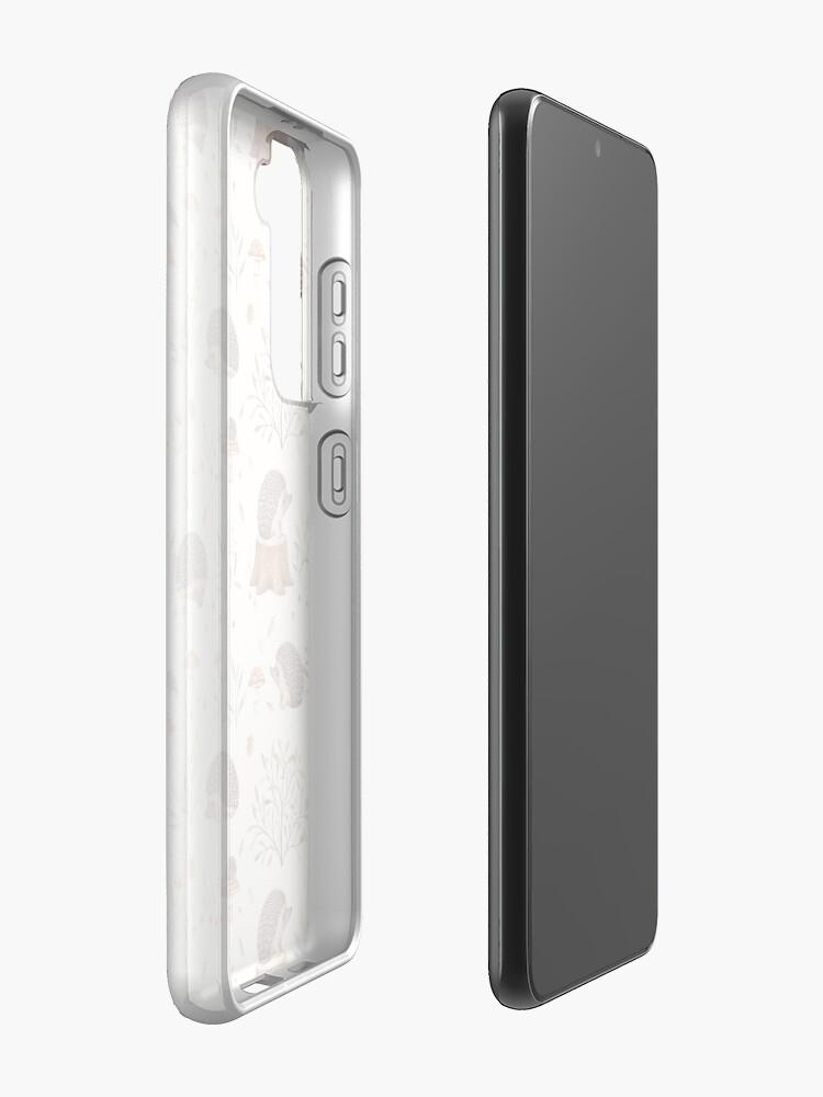 Alternate view of Little Hedgehog Case & Skin for Samsung Galaxy