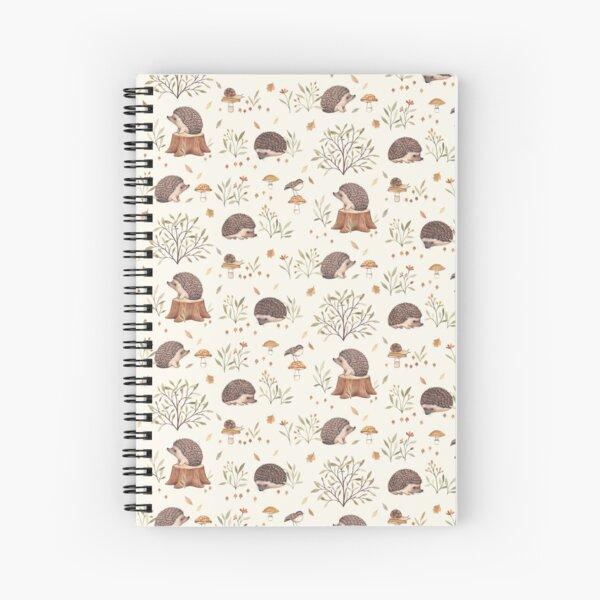 Little Hedgehog Spiral Notebook