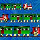 Trains - Bon Voyage by Orla Cahill
