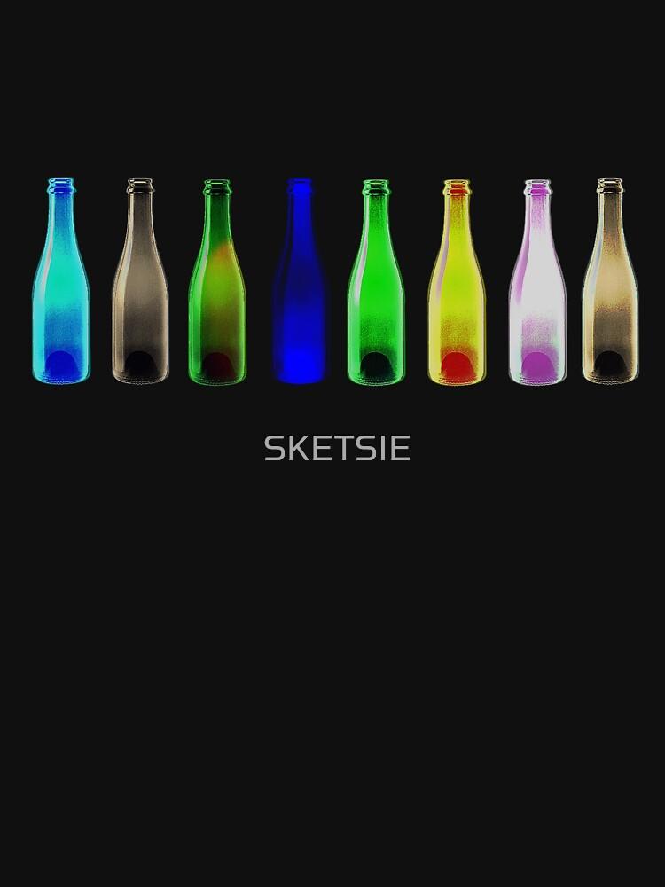 Bottles by SKETSIE