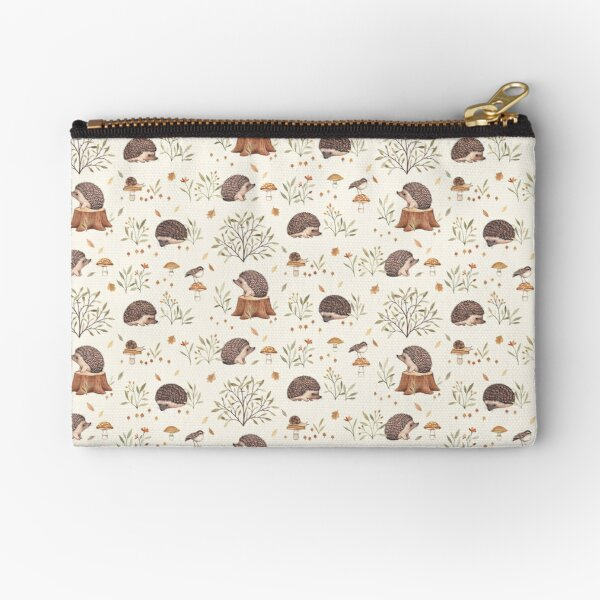 Little Hedgehog Zipper Pouch