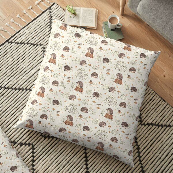 Little Hedgehog Floor Pillow