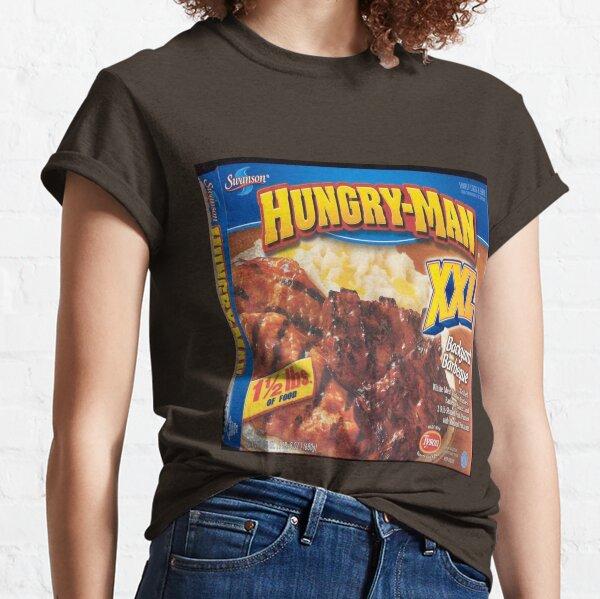 Hombre hambriento Camiseta clásica