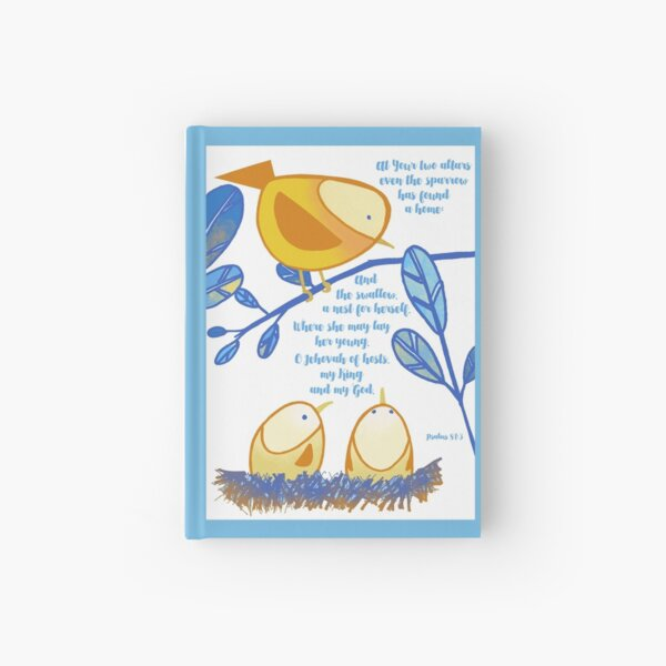 Little Birds (Yellow) Hardcover Journal