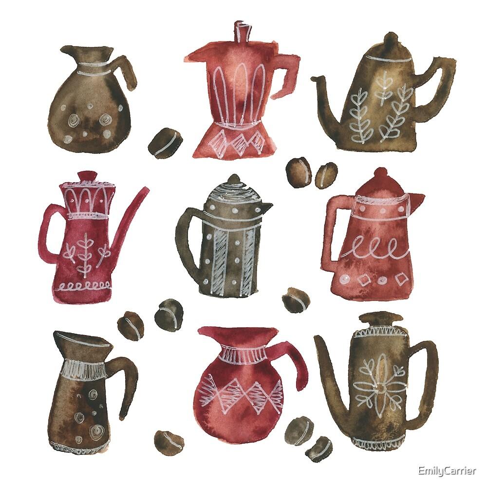 Coffee Pots by EmilyCarrier