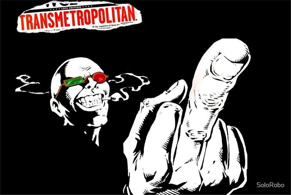 Transmetropolitan by SoloRobo