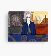 12th Doctor Rebel Time Lord  Canvas Print