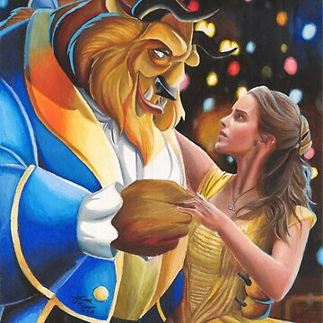Emma Watson And The Beast by EmreSuner