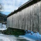 Bridge Over Frozen Water by Deborah  Benoit