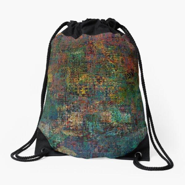City Sunset 6 Drawstring Bag