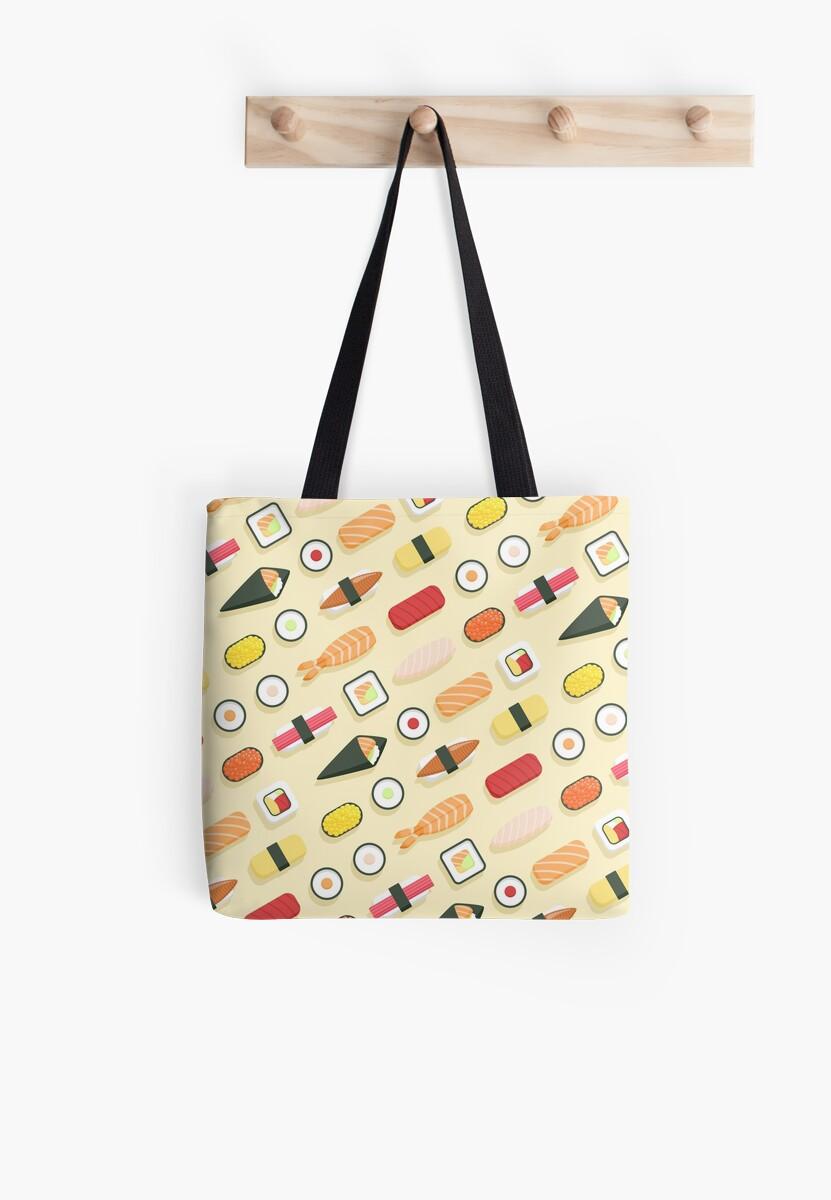 Sushi Pattern by sombrasblancas