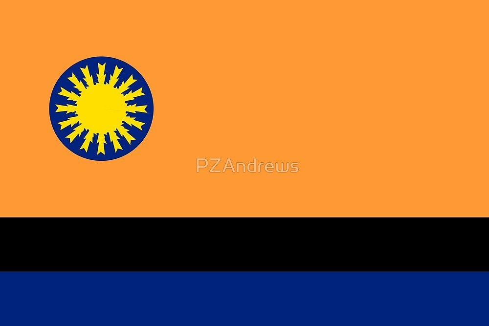 Flag of Cojedes (state), Venezuela by PZAndrews