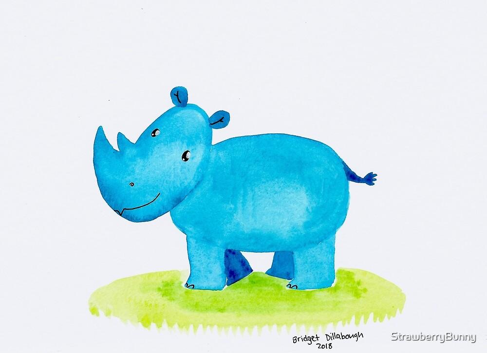Blue Rhino by Bridget Dillabough