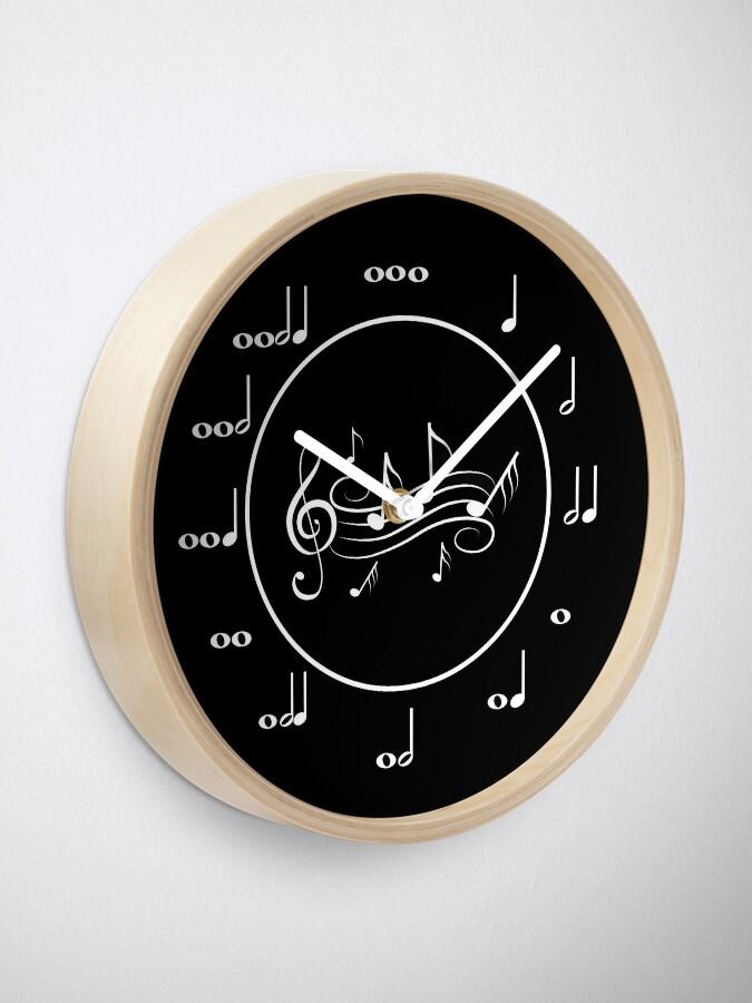 Alternate view of Music Clock Clock