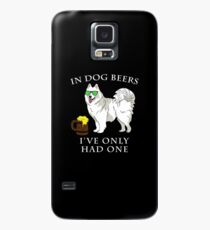 Samoyed Ive Only Had One In Dog Beers Year of the Dog Irish St Patrick Day Case/Skin for Samsung Galaxy