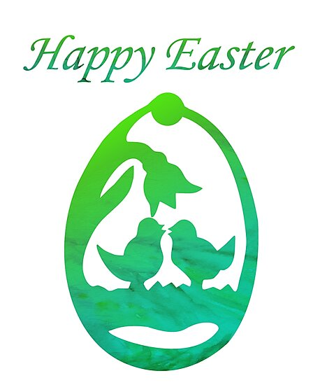 Happy Easter by Che - Tatanka