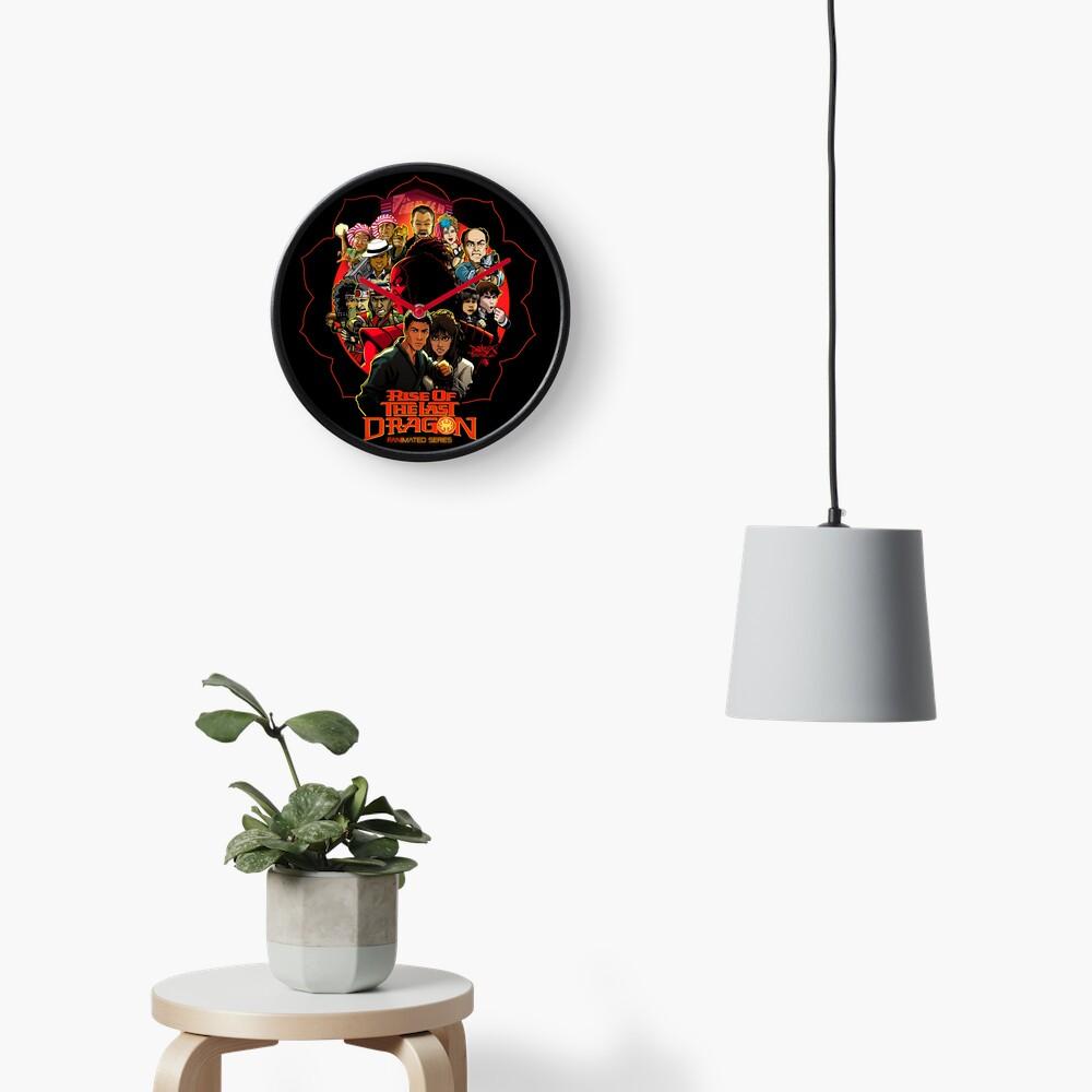 RISE OF THE LAST DRAGON Clock