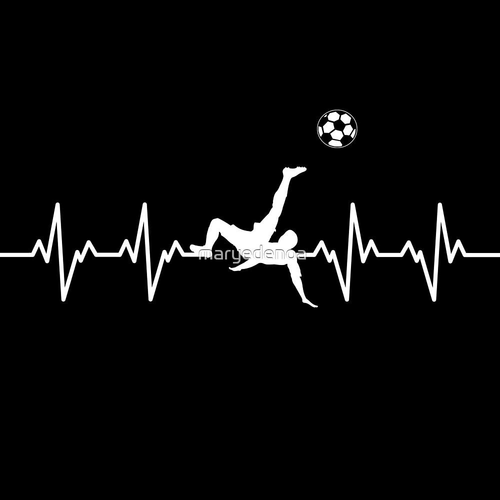 My Heart Beats for Soccer by maryedenoa