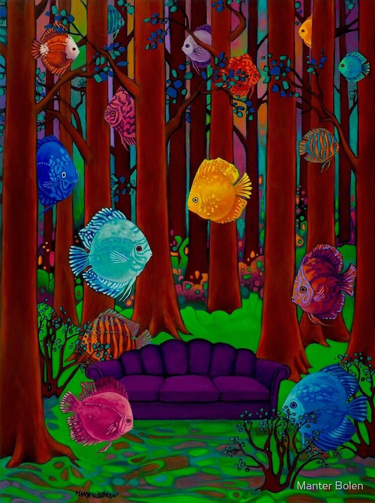 Purple Sofa by Manter Bolen