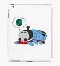 'The little blue engine who wanted to see the world' - Thomas the Tank Engine iPad Case/Skin