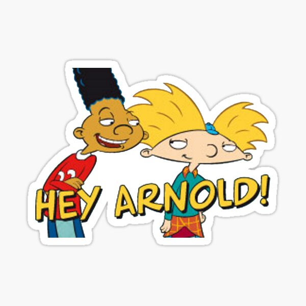 ¡Hola, Arnold! Pegatina