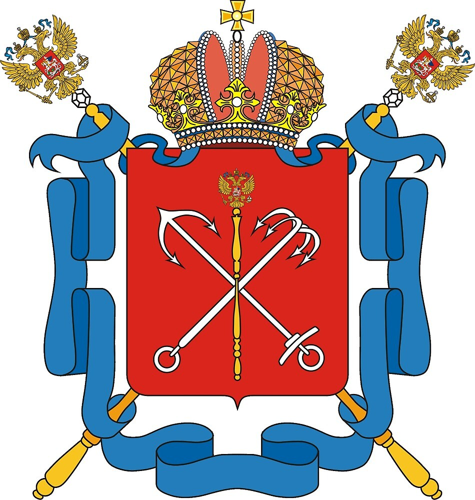 St Petersburg Coat of Arms by cecilydrey