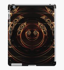abstract gold and diamonds iPad Case/Skin