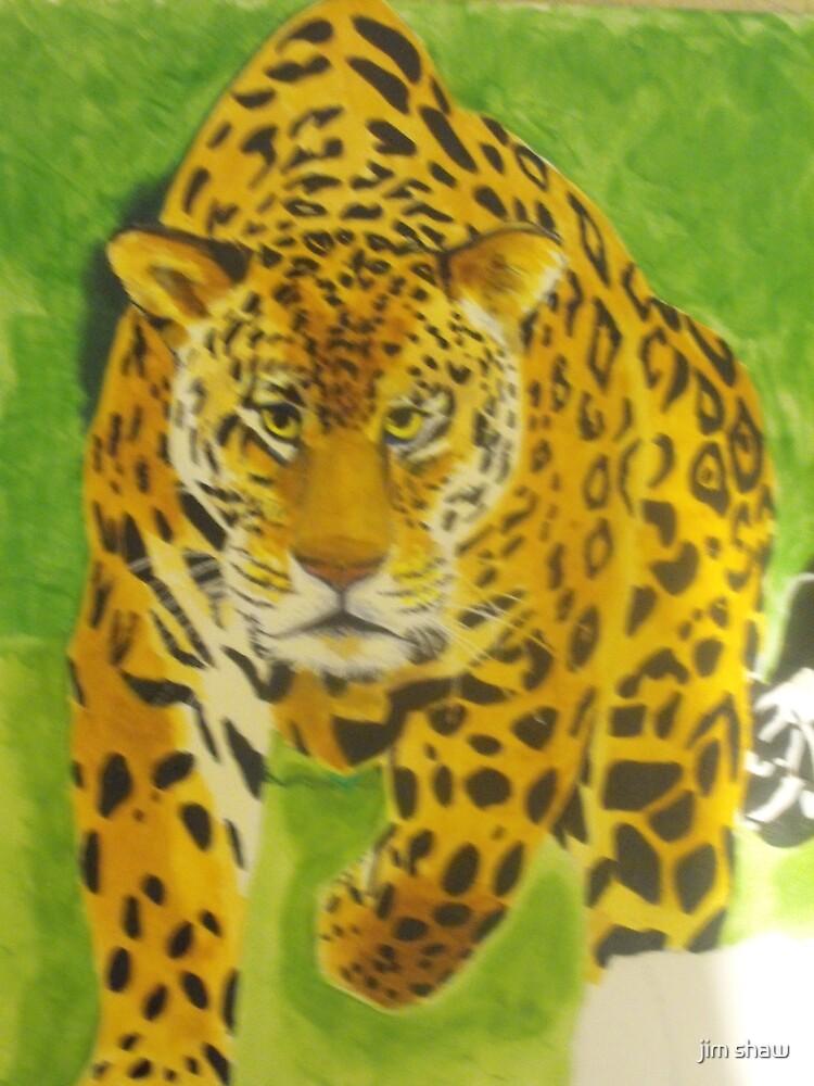 Jaguar by jim shaw