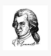 Wolfgang Amadeus Mozart  Photographic Print