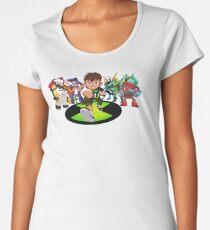 BEN 10 ALIENS Women's Premium T-Shirt