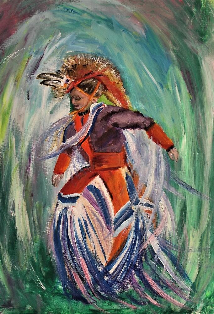 Little Grass Dancer by artbycmanderson