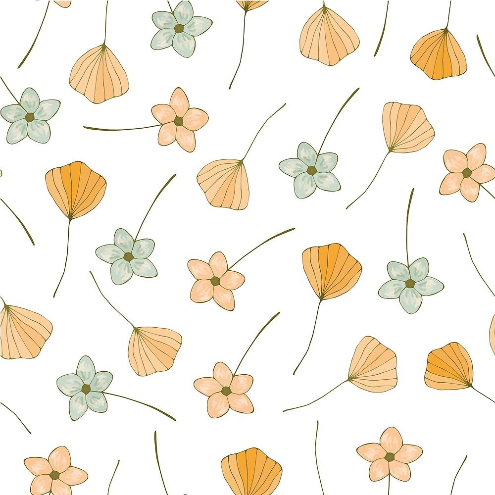 Vintage floral pattern by DaHaeHey