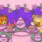 Teddy Bear Tea Party by Paula Parker