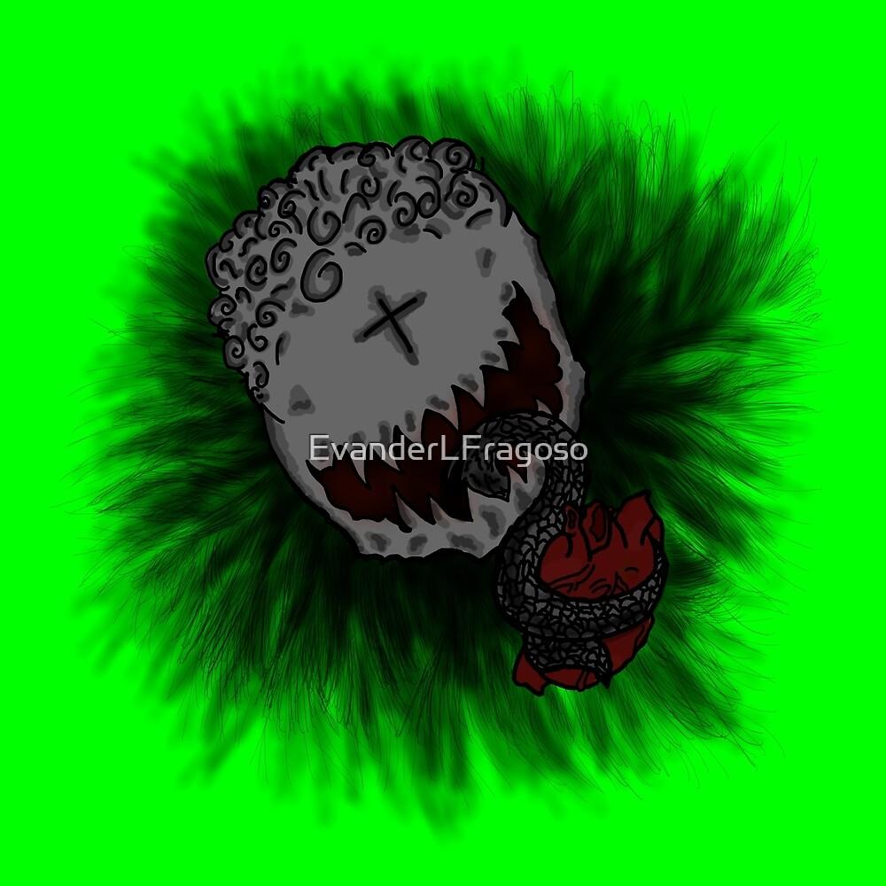 Green Heart Eater by EvanderLFragoso