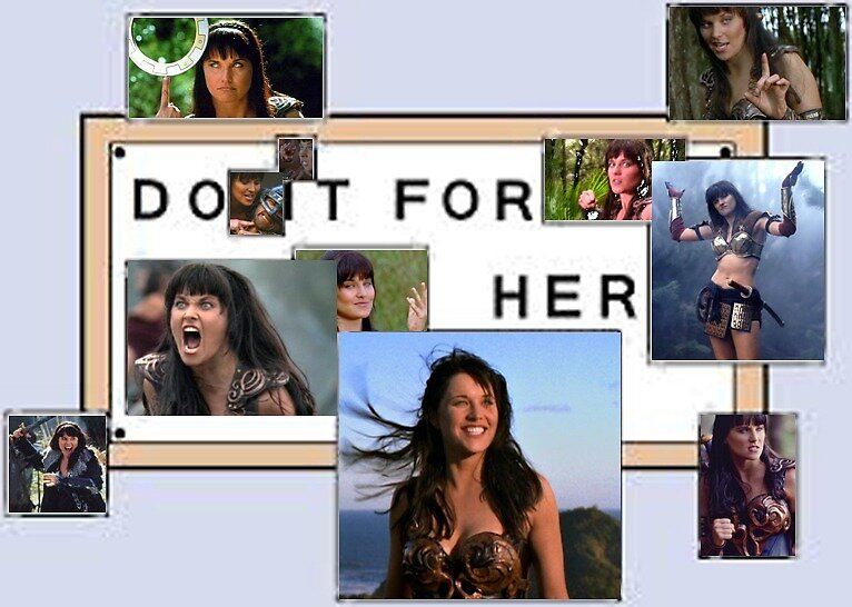 Do It For Her - Xena by Hallagay