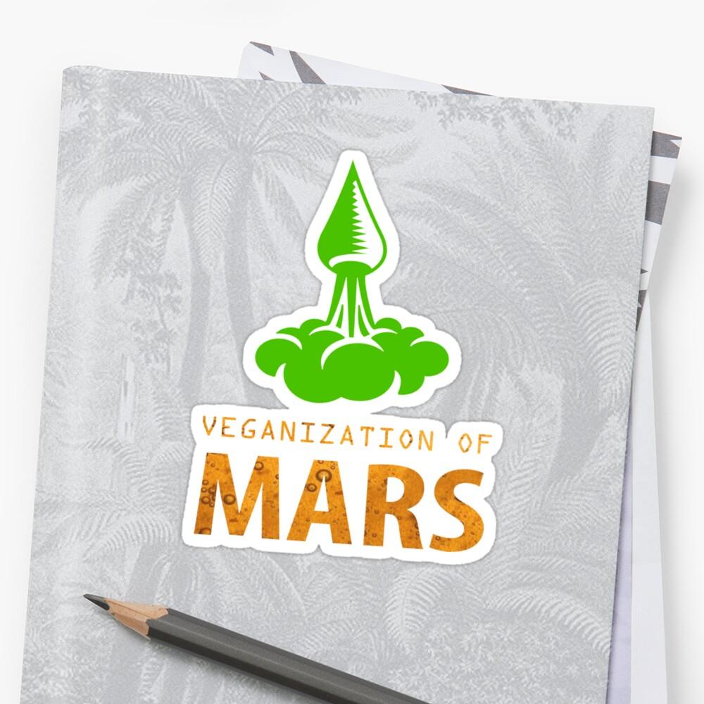 Veganization Of Mars by strepho