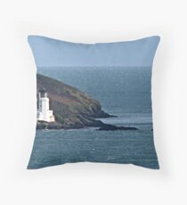 """""""Warning Masters of the Infamous Manacle Rocks"""" Throw Pillow"""