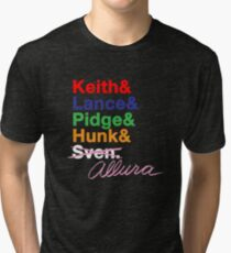 Voltron Force Tribute Tri-blend T-Shirt