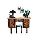 Vintage desk by jaqueline  storm