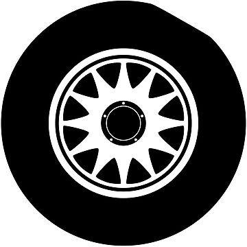 Flat Spot tyre graphic by flatspotapparel