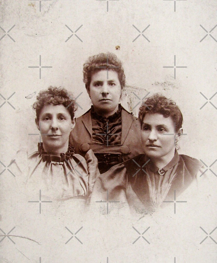 1800s Sepia Girls by collageDP