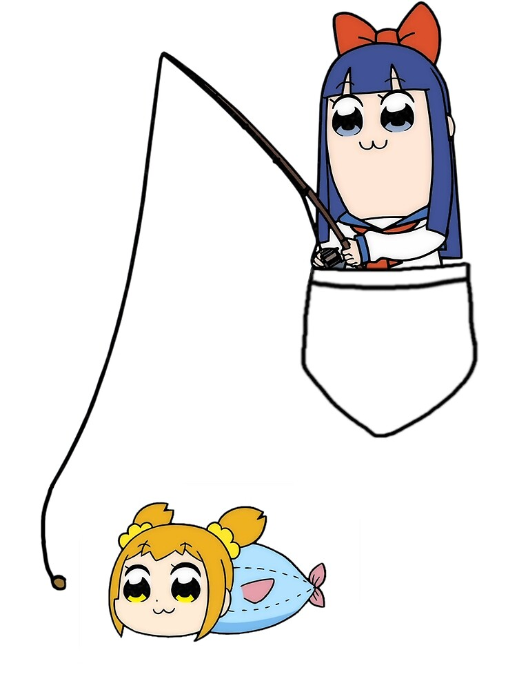 Popuko and Pipimi - Fishing by Yun0 ★