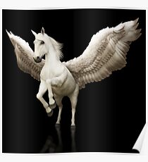 Mythical Pegasus Poster